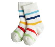 Multi Stripe Baby Stoppersocken