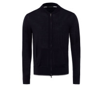 Herren Zip-Jacke Blau Gr. 48
