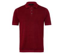 Herren Pullover Polo Rot Gr. 46