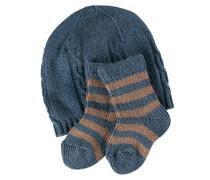Giftset Kinder Socken Blau Gr. 62-68