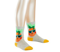 Pineapple Kinder Socken Grau Gr. 35-38