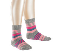 Irregular Stripe Kinder Socken