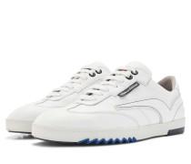 Weißer Leder Herren Sneaker