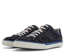 Blauer Herren Wildleder Sneaker