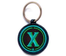 Schlüsselanhänger ABC türkis/grün