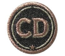 Label INITIALEN 4cm grau/metallic personalisierbar