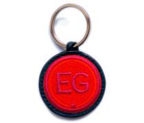 Schlüsselanhänger INITIALEN · rot/pink