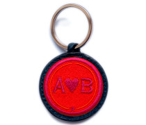 Schlüsselanhänger Love · rot/pink
