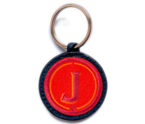 Schlüsselanhänger ABC rot/pink
