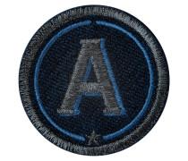 Label ABC · anthrazit metallic/marine