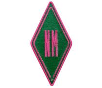 Label Karo · grün · personalisierbar
