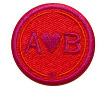 Label LOVE 4cm rot/pink personalisierbar