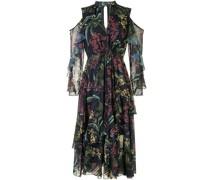 Kleid mit Cut-Outs - Mehrfarbig