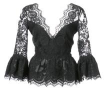 peplum lace blouse