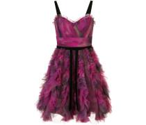 Kleid mit Print - Lila