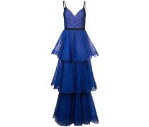 Langes Empire-Kleid - Blau