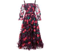 Kleid mit Blumenmuster - Rosa
