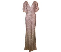Robe im Metallic-Look