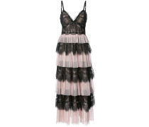 Kleid im Lagen-Look - Rosa & Lila