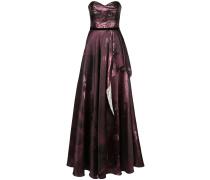 Abendkleid im Metallic-Look - Lila