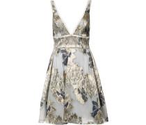 Kleid mit Blumen-Print - women - Acryl - 4