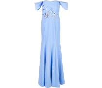 Langes Kleid - Blau