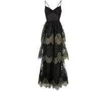 Abendkleid aus Spitze - Schwarz