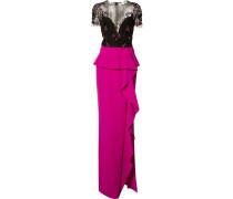 Kleid mit Volant - women - Polyamid - 0