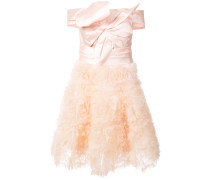 frill-embroidered dress - Rosa & Lila