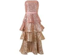 Kleid mit Pailletten - Rosa