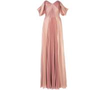 Schulterfreies Abendkleid - Rosa