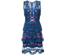 Florales Kleid - Blau
