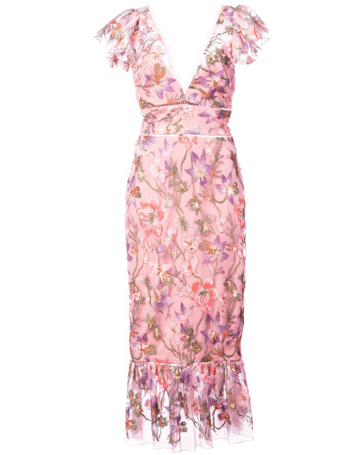 floral fitted dress - Rosa & Lila