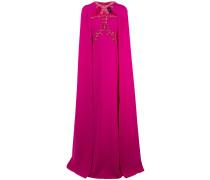 Besticktes Abendkleid - Rosa