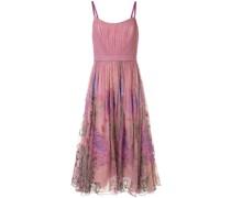 Kleid mit Print - Rosa