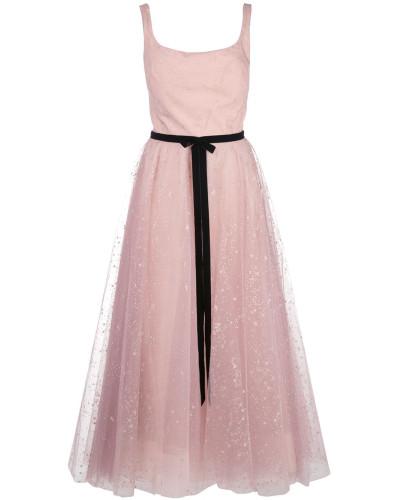 Kleid mit Glitzer - Rosa