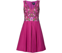 - Kleid mit floraler Stickerei - women