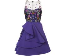 Verziertes Kleid - Rosa & Lila