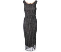 Verziertes Abendkleid - Grau