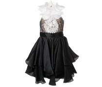 Verziertes Kleid - Schwarz