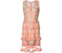 Semi-transparentes Kleid im Lagen-Look