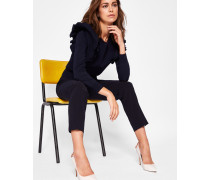 Skinny-fit Hose Mit Ottoman-muster
