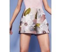 Jacquard-shorts Mit Chatsworth-print