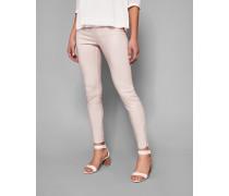 Skinny Jeans Mit Beschichtung