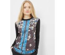 Exquisite Charm-pullover Aus Seiden-mix