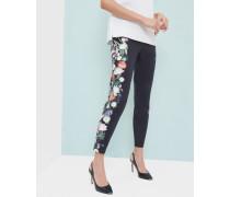 Knöchellange Hose Mit Kensington Floral-print