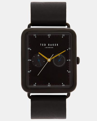 Uhr mit Rechteckigem Zifferblatt