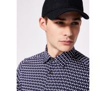 Baumwollhemd mit geometrischem Print