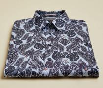 Hemd aus Baumwolle mit Monkey-Print