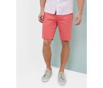 Chino-shorts Mit Geo-print